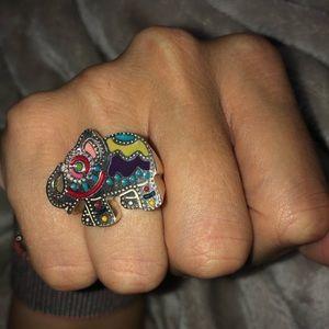 Tous Ganesh Ring size 7